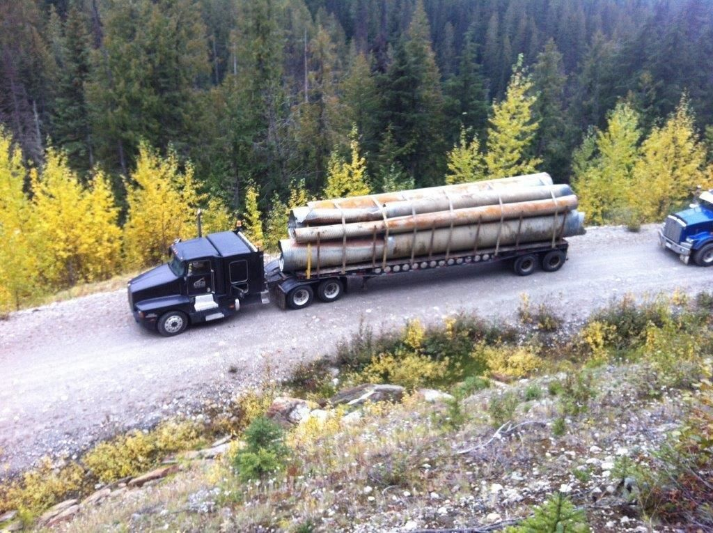 Hauling culverts