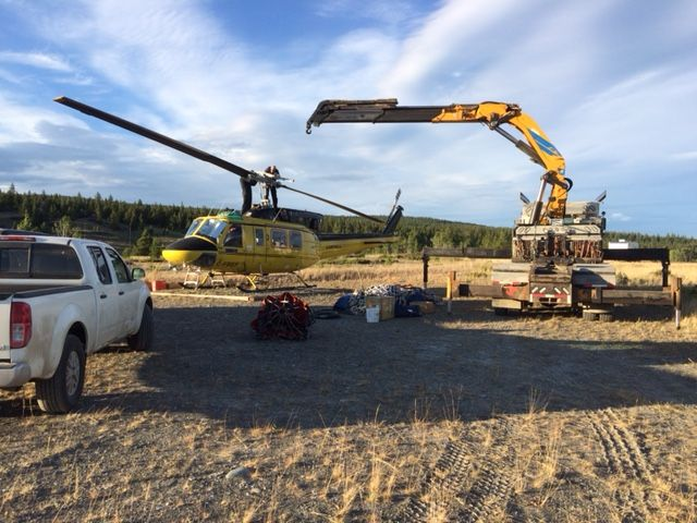assistance with Helicopter Repair during 2017 fires